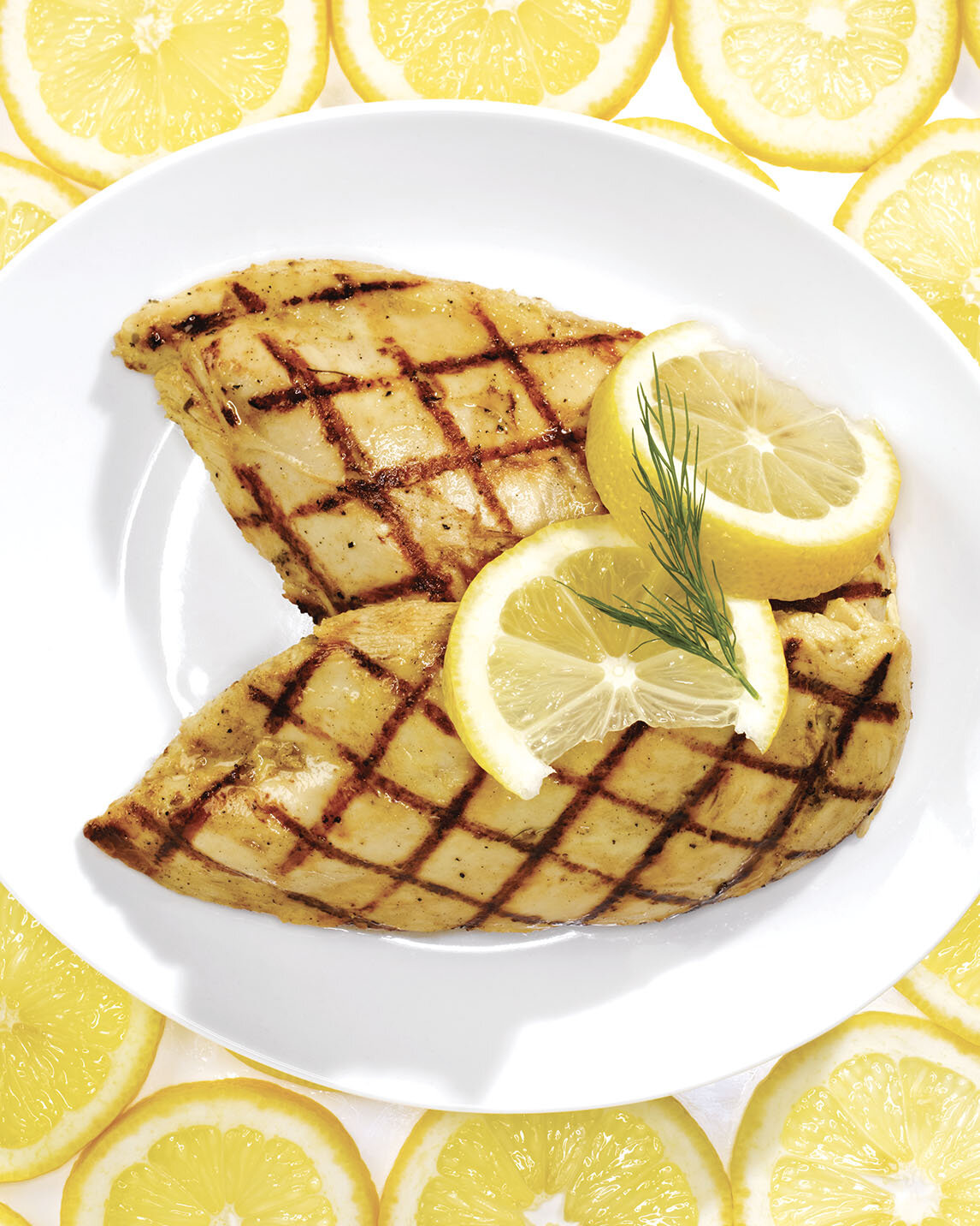 Grilled Lemon Dill Chicken Recipe Bite Me More