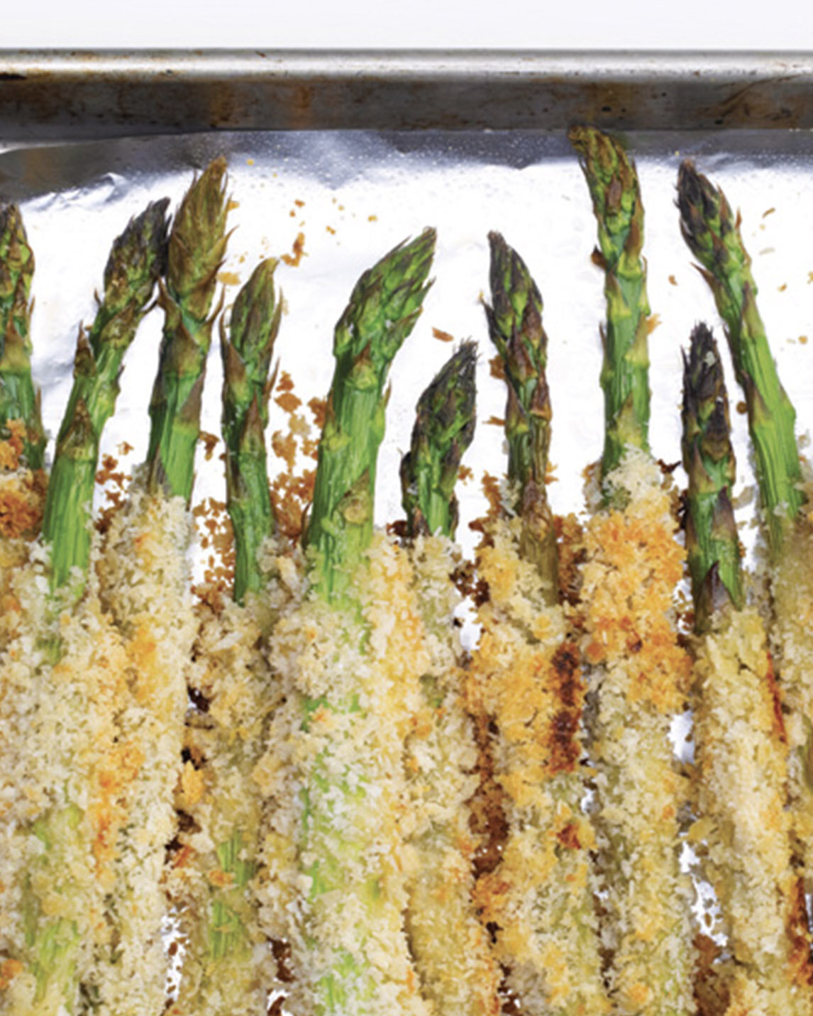 Parmesan Crusted Baked Asparagus Recipe Bite Me More