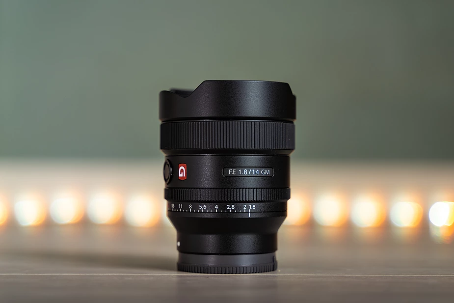 The lens from a closest look (photo from Albert Dros)