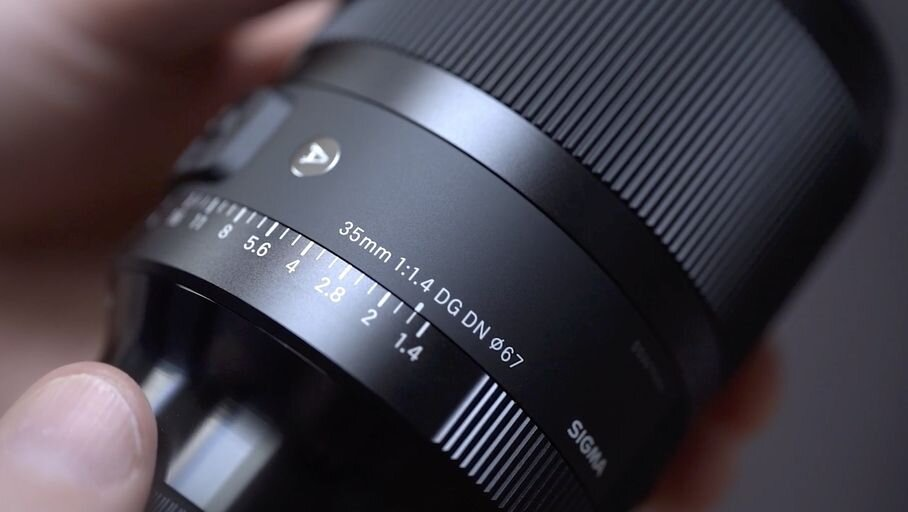 Sigma 35mm f1.4 lens