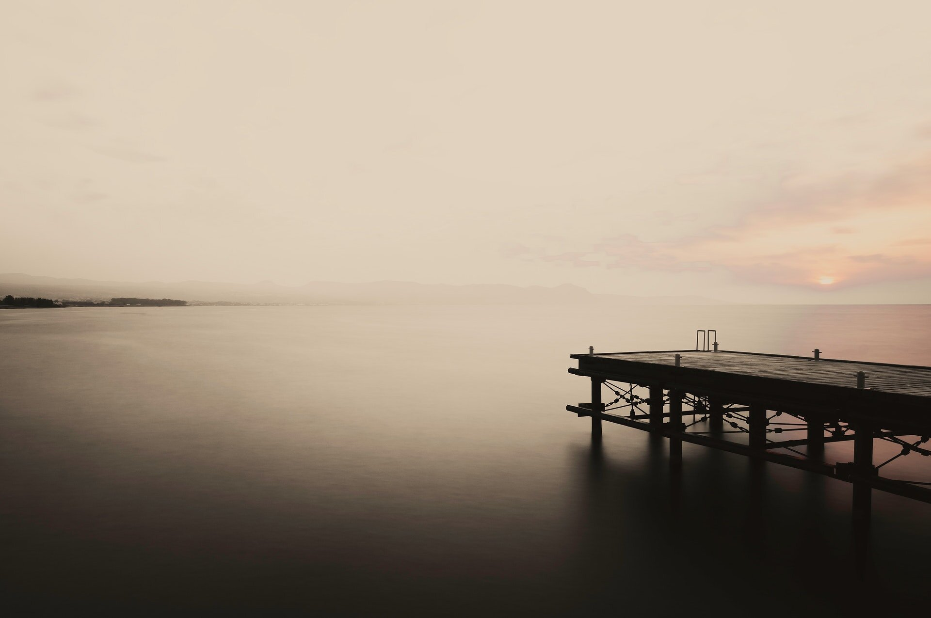 Long exposure by using an ND filter