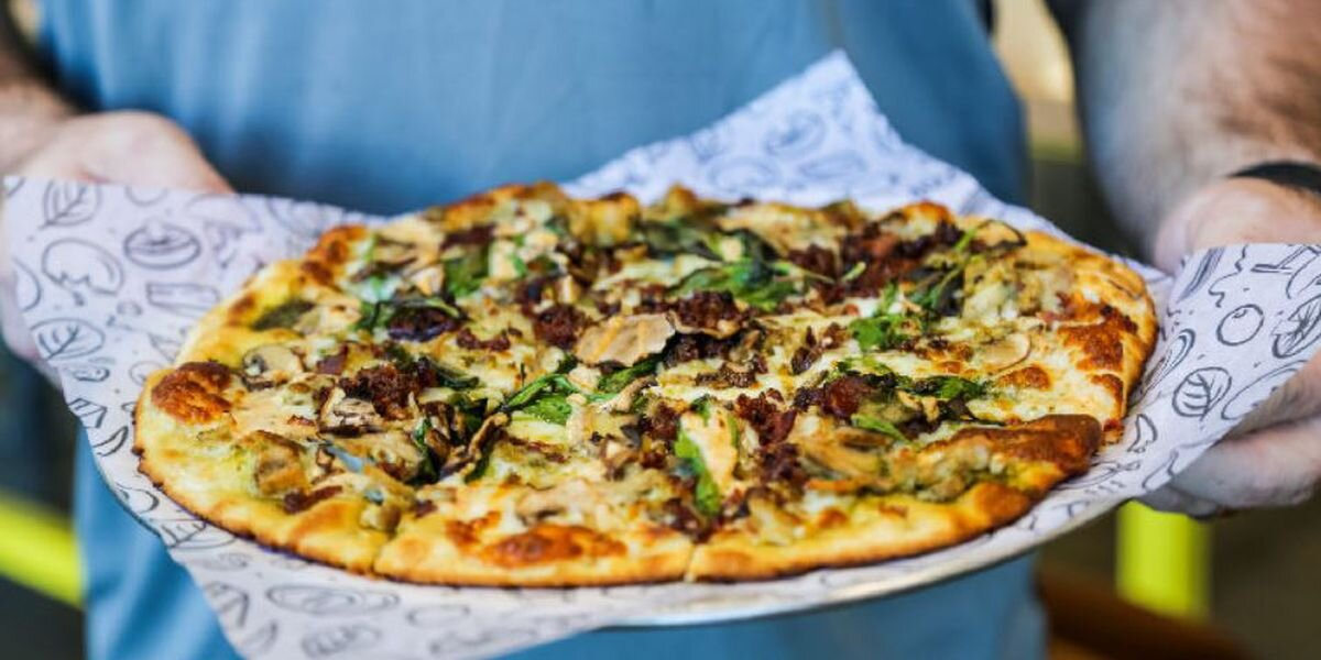 Survey = Pizza - Take the climate action survey and receive $5 off your next $10 purchase at Azzip Pizza. It's that easy.