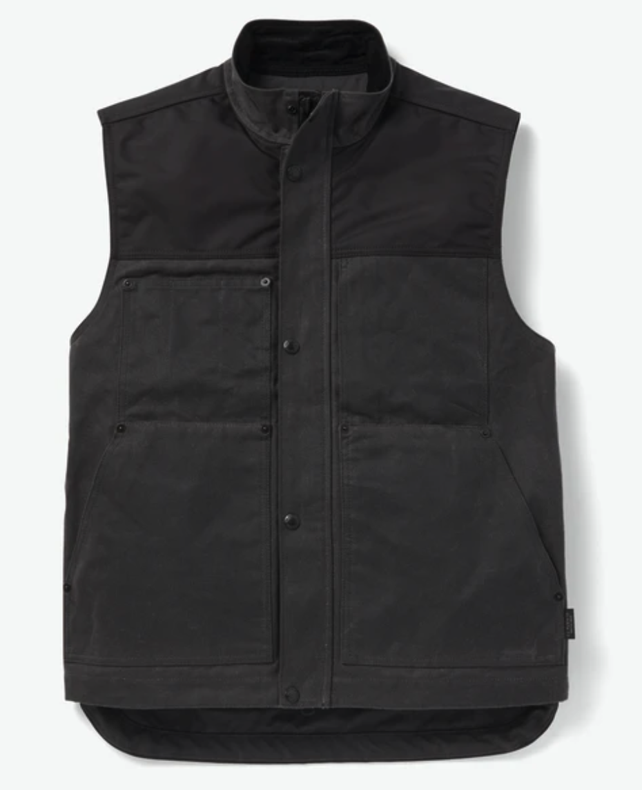 Made the same material as the Canvas Cruiser, the Alcan Canvas Vest is designed to be worn as a layer over another jacket or in replacement of such on a nice day. The Alcan Canvas Vest is equipped with the same weather durable nylon outer layer and corduroy-lined collar. - Costing $275, the Alcan Canvas Vest is significantly more affordable than the Alcan Canvas Cruiser.