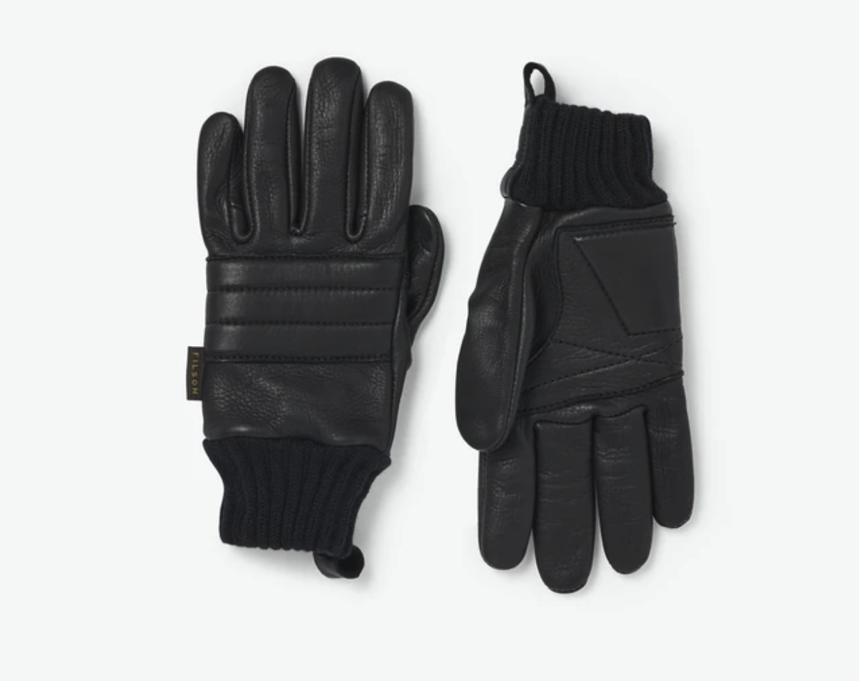 A motorcycle collection could not be complete without a pair of good leather gloves, of course. Filson's Alcan Leather Gloves are built with premium deerskin that is durable, soft and pliable. These gloves boast padded knuckles and palms, providing outstanding protection for your ride. Not only are these gloves durable and effective, but Filson partnered with another local Washington company, the JRC Glove Company. JRC was founded back in 1897, the same year that Filson began. Together, these two companies have kept their promise of high quality and tradition, while evolving with the times to create some of the best products today's sports could ask for. - These gloves retail for $165 and while that seems expensive for a pair of gloves, you cannot beat the quality and durability of this leather. These gloves will quickly become your favorite pair and will last many, many years.