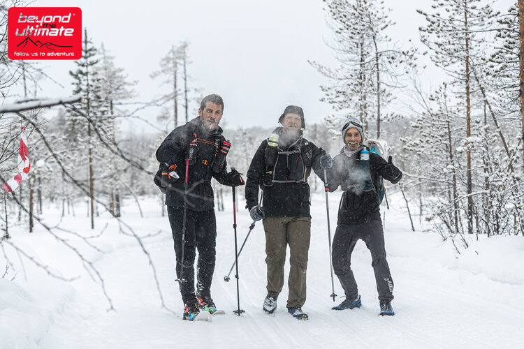 Picture of Simon Dicks, Lee Quinn & Craig Williams at the Ice Ultra