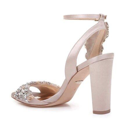 Libby Crystal Embellished Evening Shoe