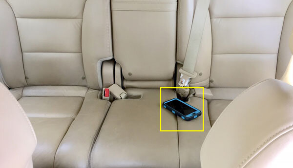 Objects Left Behind - Alerts when you've left something in the vehicle, and peace of mind for operators knowing that the autonomous vehicle is empty when sent to its next pick up.
