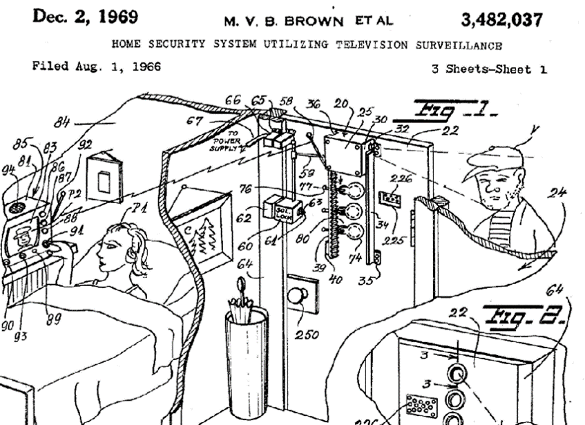 Image courtesy of: https://code.likeagirl.io/marie-van-brittan-brown-inventor-of-the-home-security-system-86efe686830b