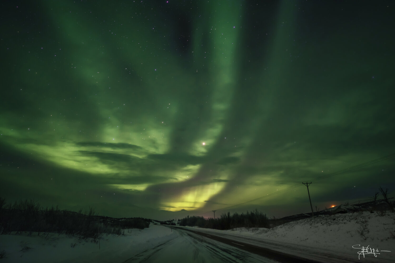 La prima aurora! Foto: Barbara Vigolo