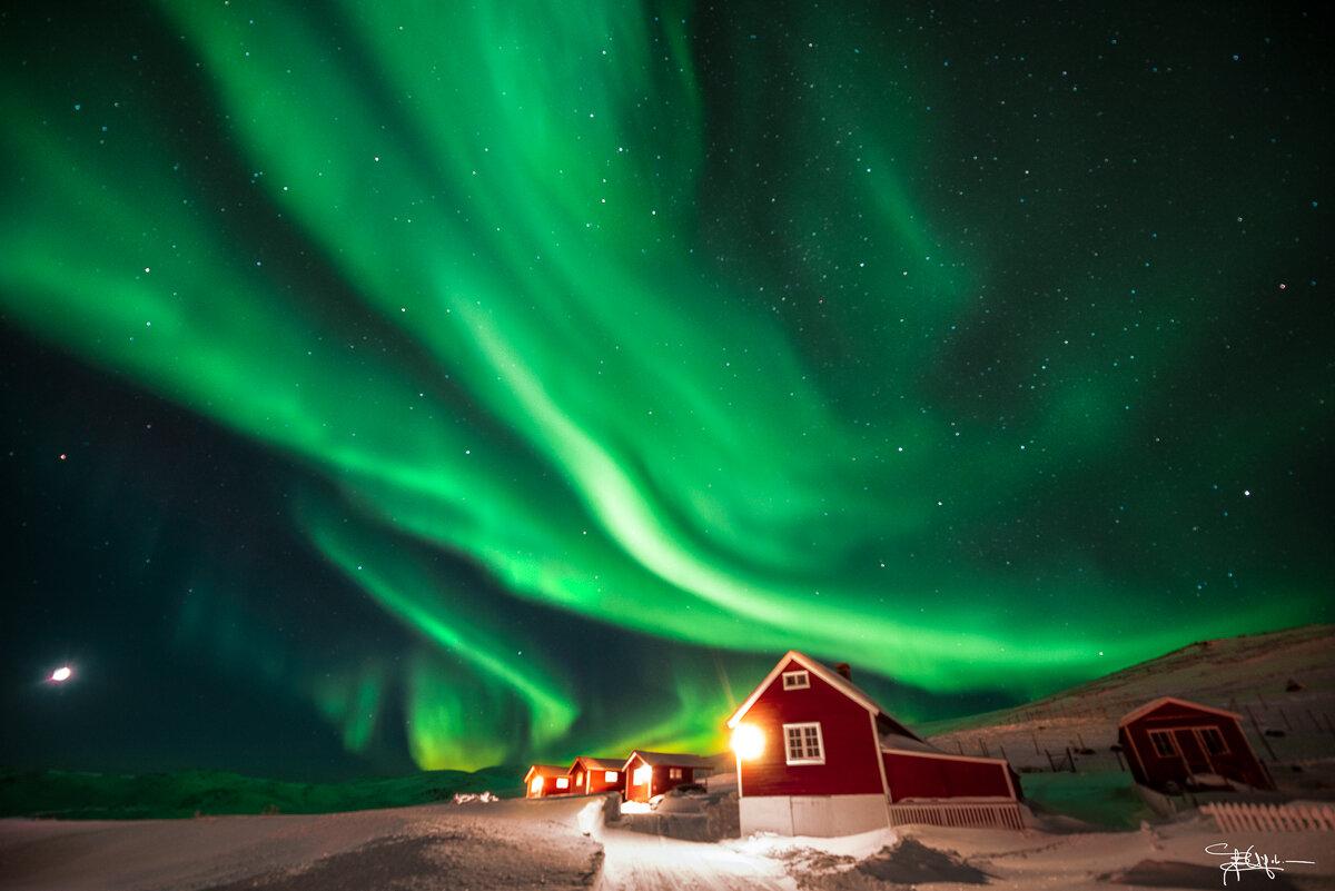 Aurora boreale a Mageroya - Foto: Barbara Vigolo