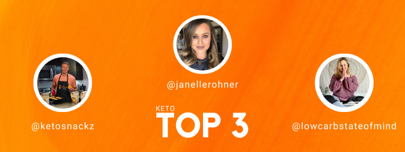 Top 3 Keto TikTok Accounts