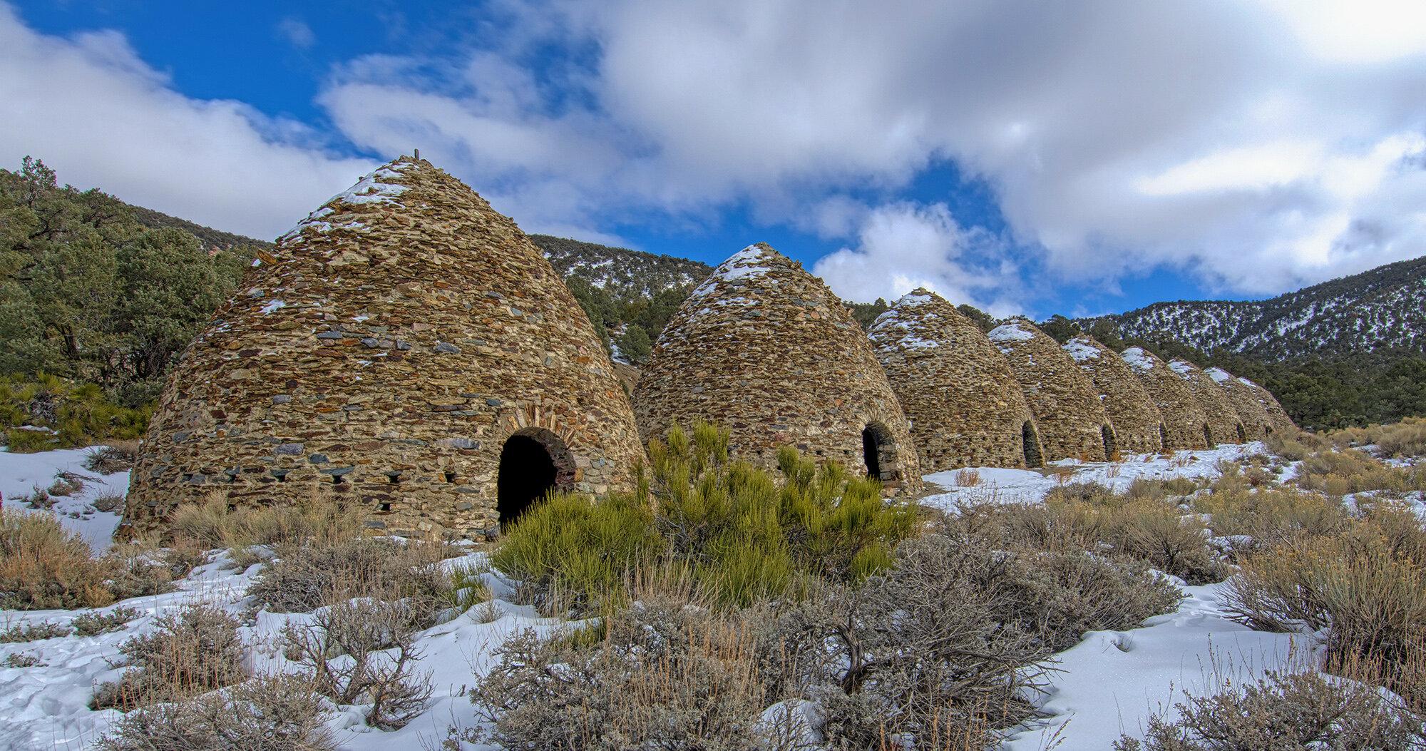 Wildrose Charcoal Kilns - Death Valley - California ...