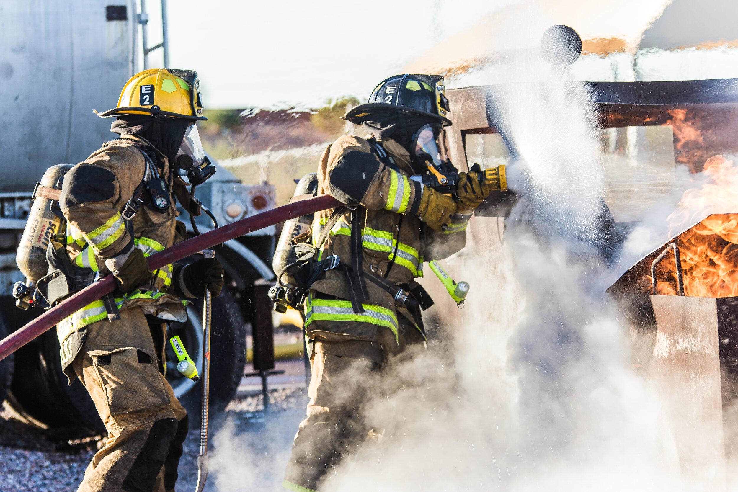 STCW Fire fighting