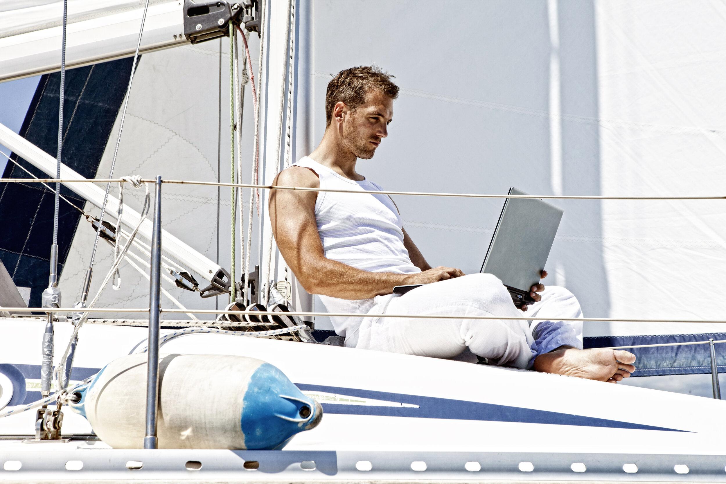 super yacht deckhand