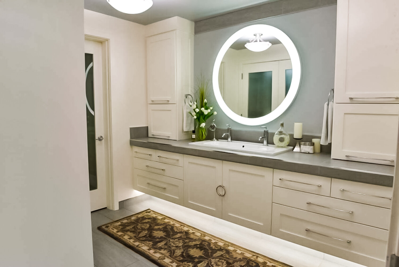 Go To The Light Master Bathroom Remodeling Rhonda Knoche Design