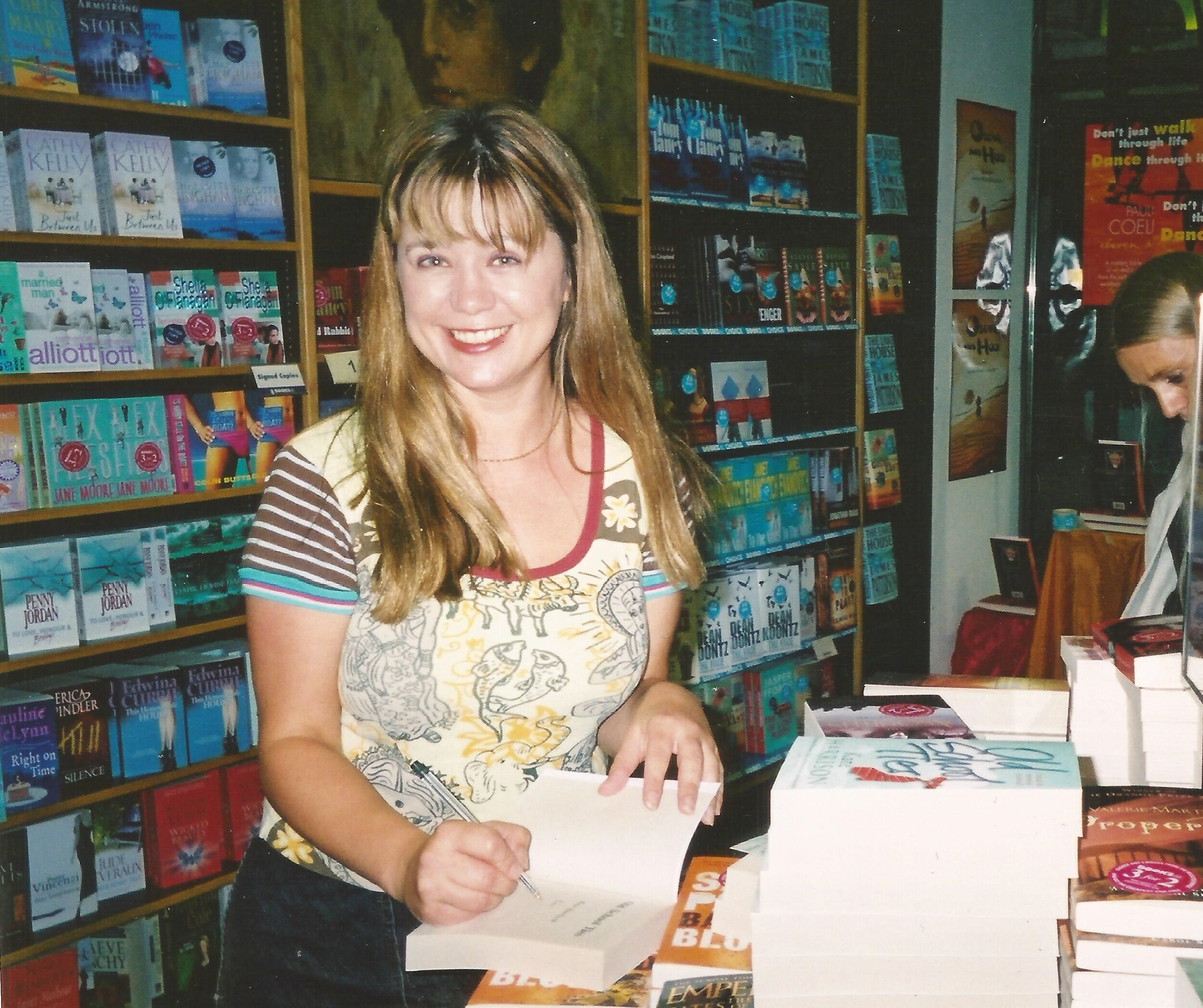 Kate Harrison book launch Old School Ties 2003