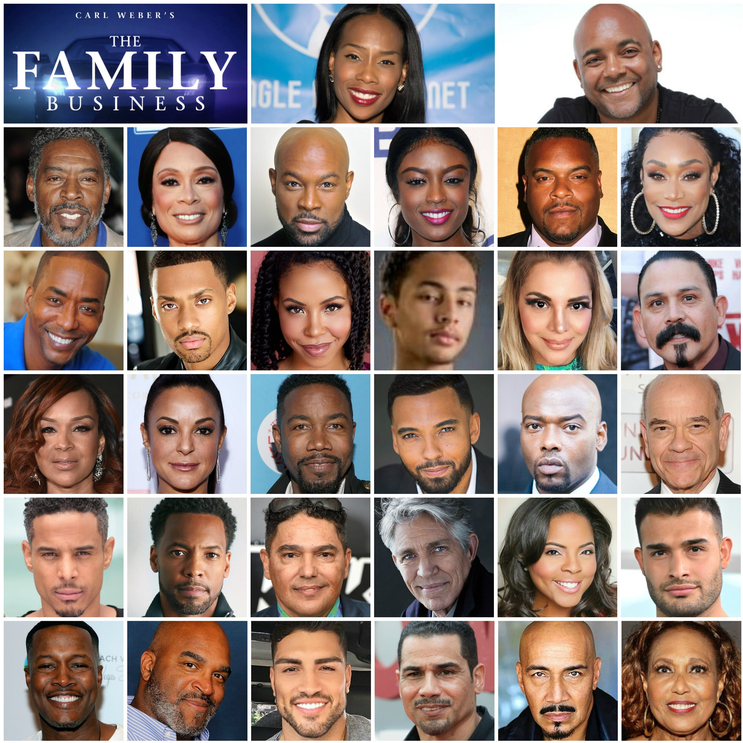 cast of family business on bet