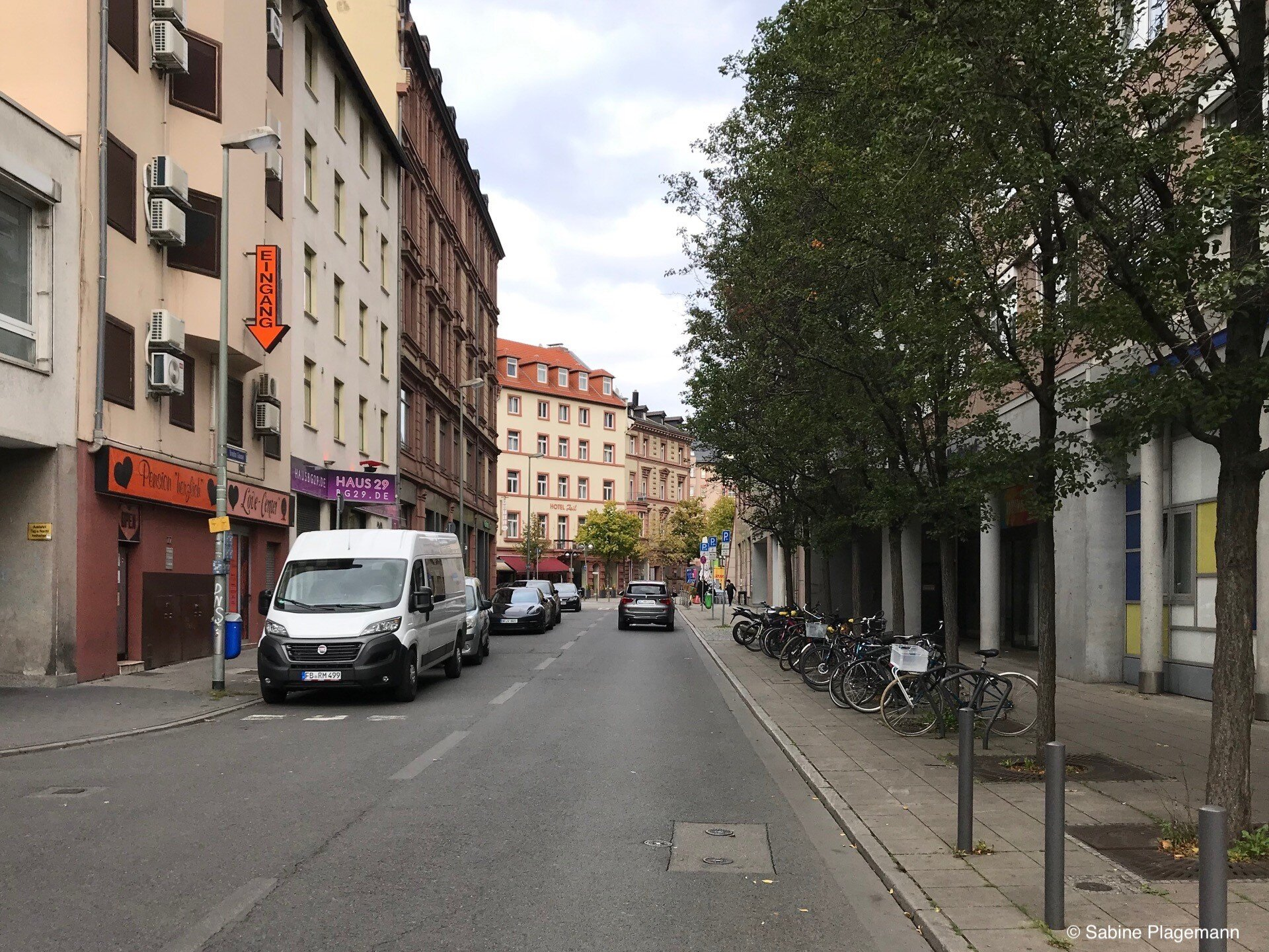 1 frankfurt main am breite gasse Duitse steden,