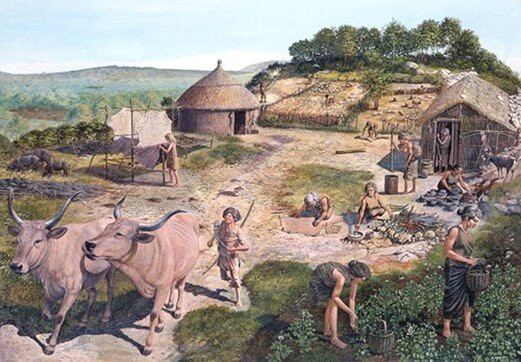 A depiction of Neolithic society