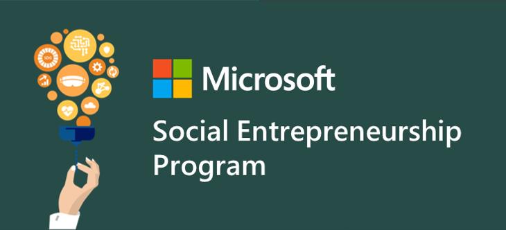 Copyright: Microsoft Social Entrepreneurship Program