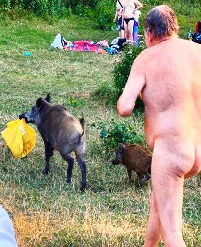 Pics granny nudist 15 Mother