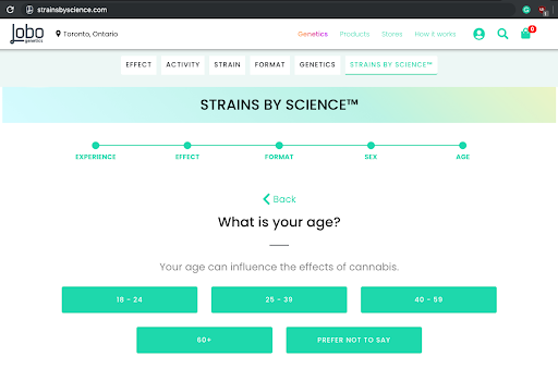 Check out Lobo's StrainsByScience.com