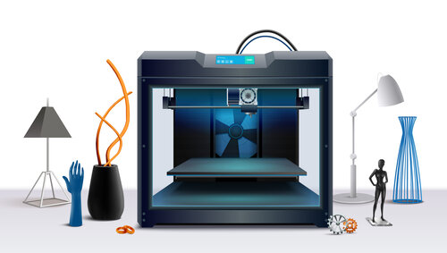 Design and Print with a 3D printer
