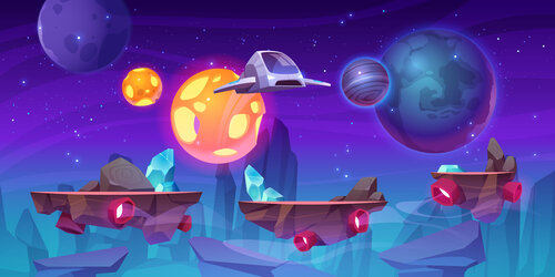 Kids Game Jam: Out Of This World!
