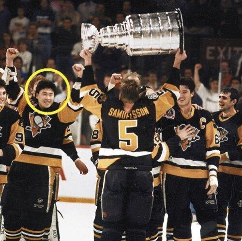 Jim Paek First Korean to Play the NHL