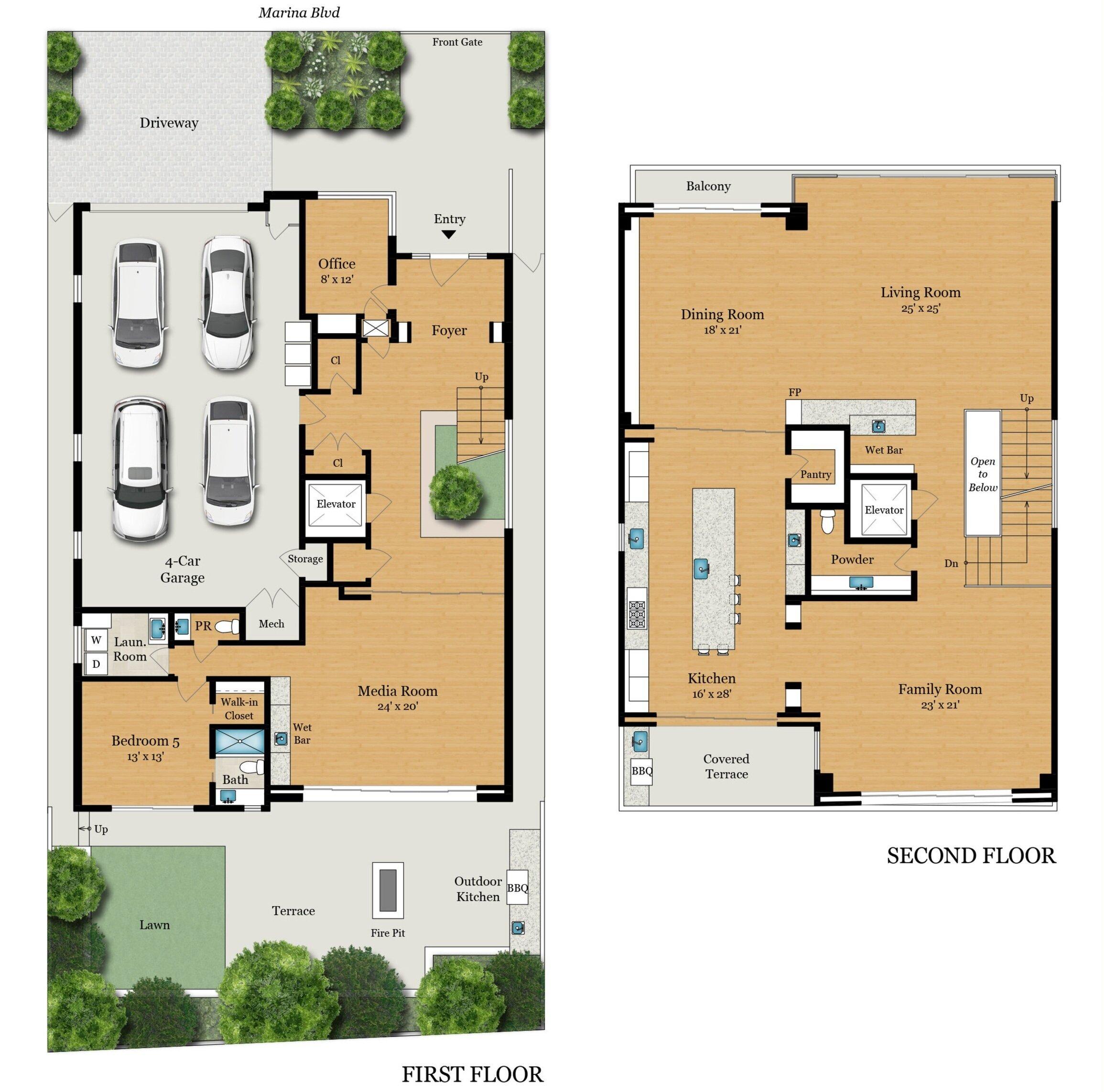Floor Plans 435 Marina Blvd