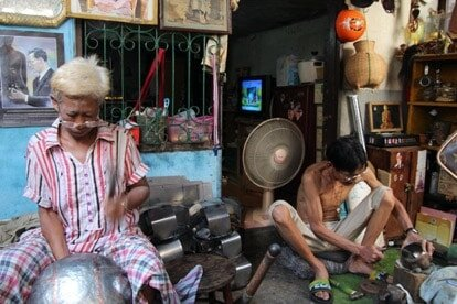 baan bat monk bowl community bangkok thailand
