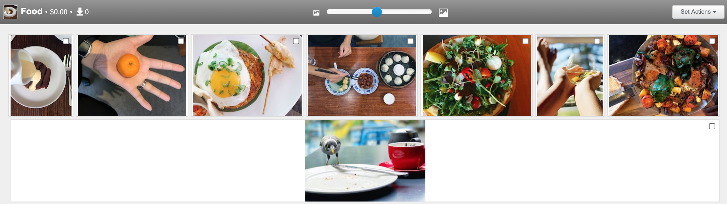 Food stock photography on shutterstock