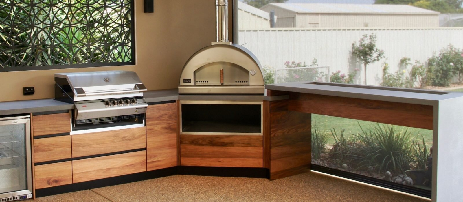 Adelaide Outdoor Kitchens Kitchens Concrete Benchtops Furniture