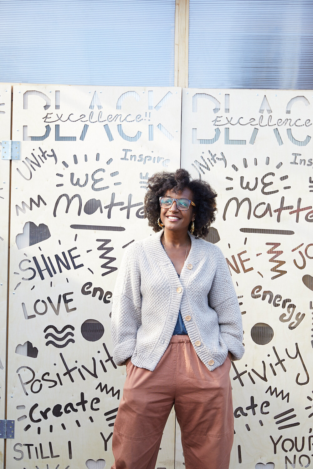 Dr. Aisha Mays, Founder, Dream Youth Clinics at Roots Community Health Center. Photographed by  Jen Siska .
