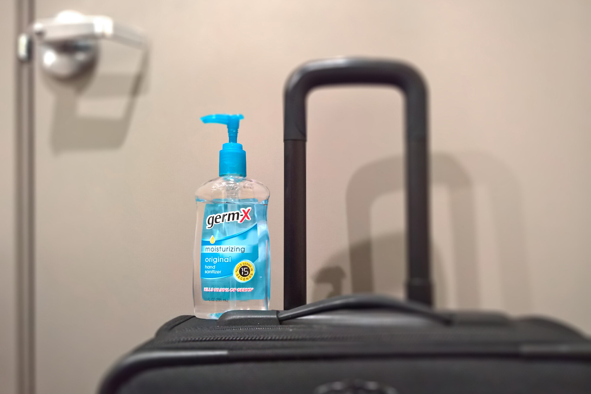 How much hand sanitizer can I bring on a plane during COVID?