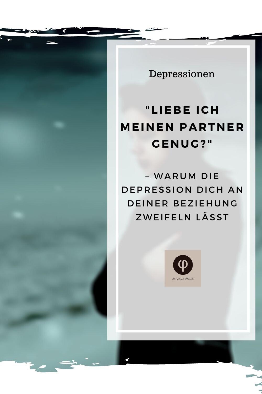 Depressive vom trennen sich partner warum DEPRESSION: Scheidung