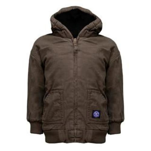 青年保暖夹克-你的农场孩子会感谢你的外套。相信我。