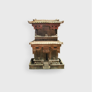 Model of a Two-Storied Residential Tower