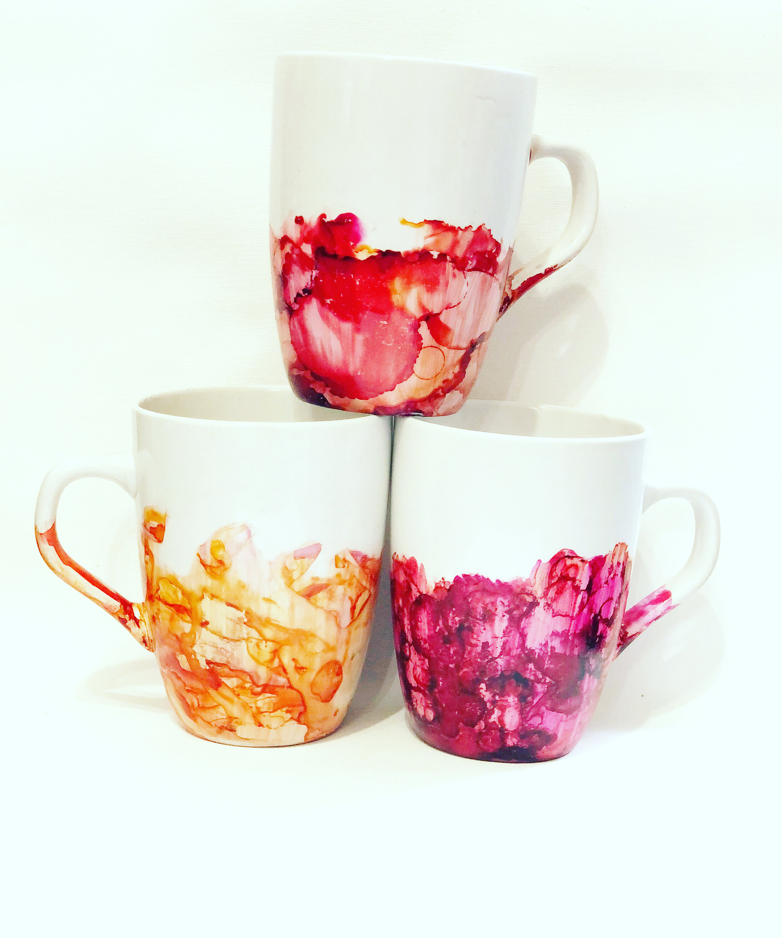 Hand Painted Mug Customized Saltwater Scripts