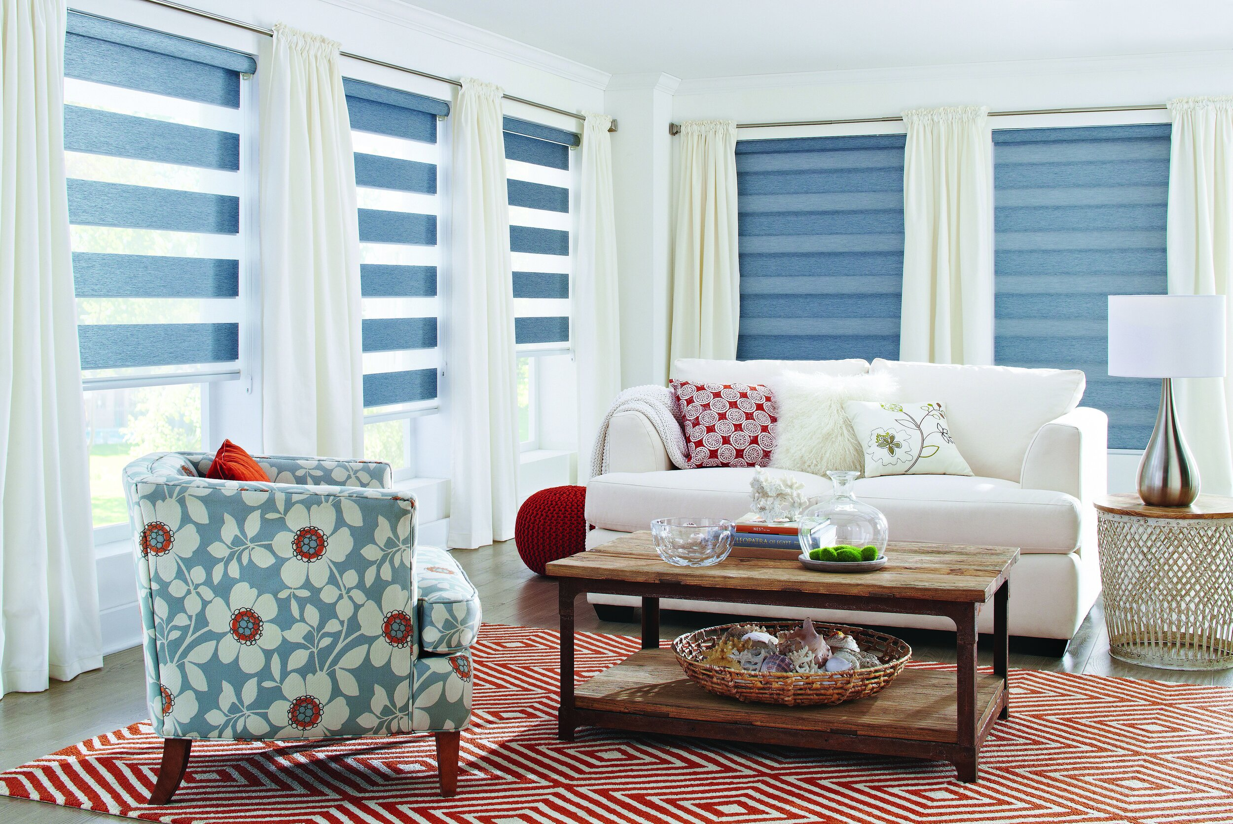 Custom Dual Shades — Villa Window Coverings