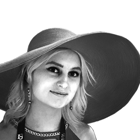 Yana Hryhorchyk - Product DevelopmentFashion enthusiast that speaks 7 languages. Constantly generating new ideas. Great talent for programming and studies physics at the TU Munich.