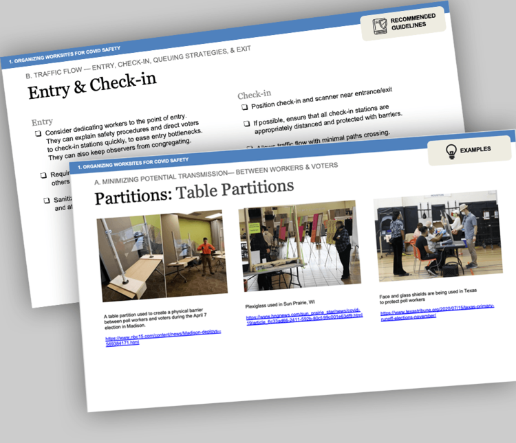 Healthy Polling Places Guidebook