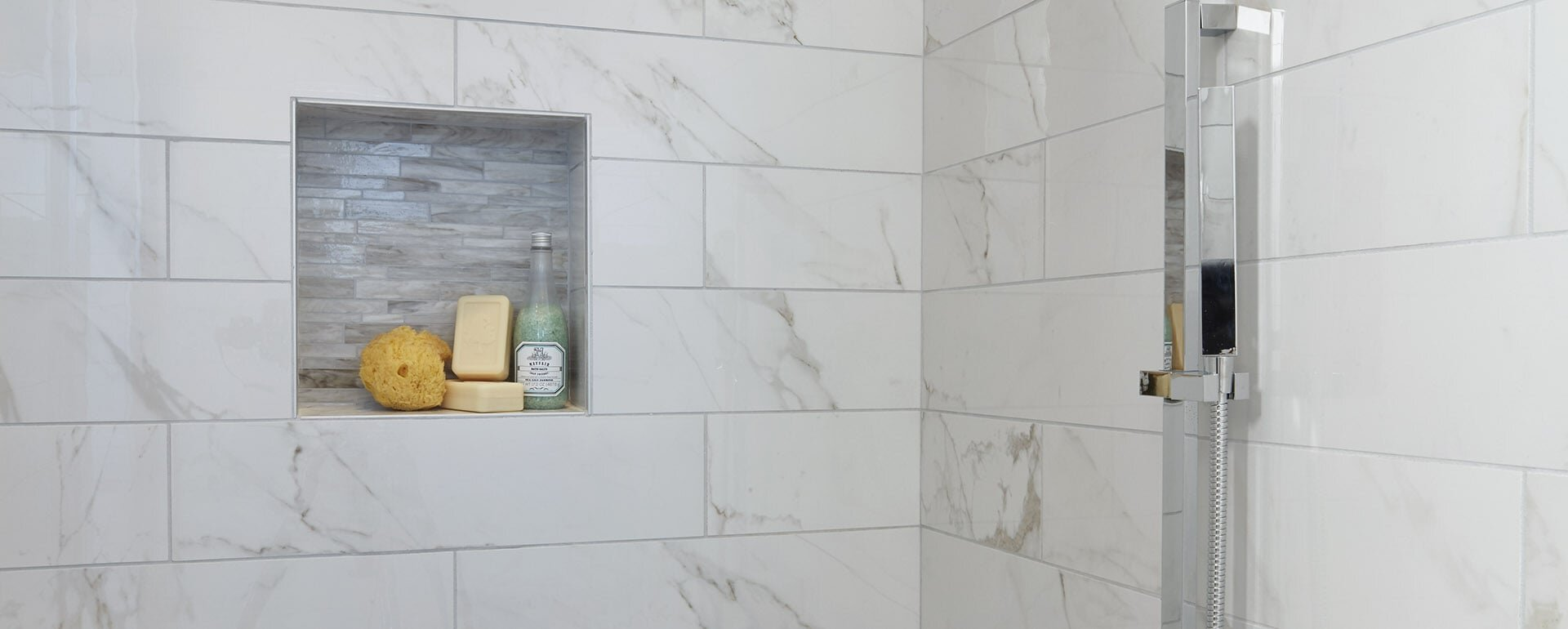 Shower Storage Ideas Options Tile Lines