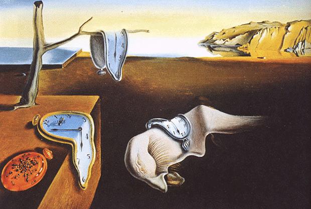 Bức họa The Persistence of Memory của Dalí