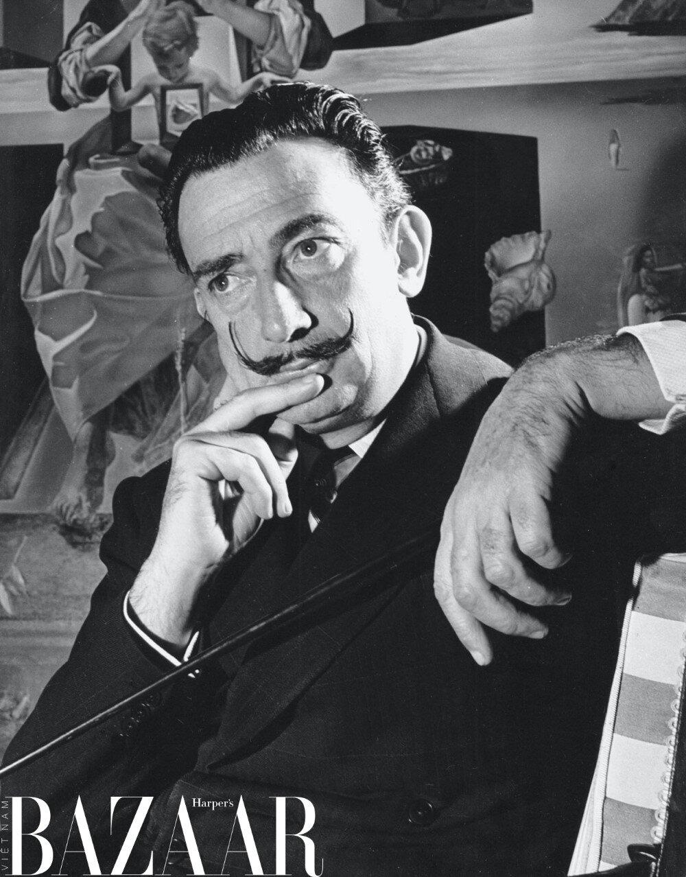 Chân dung danh họa Salvador Dalí