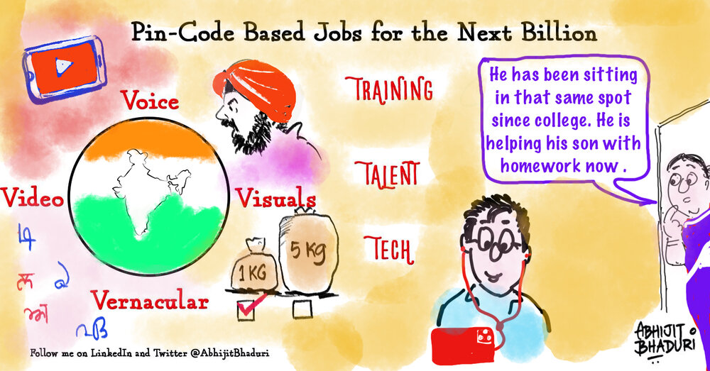 The next opportunity for India lies in Pin-Code based jobs
