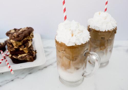 Award-Winning Brownies + Café Cubano = <3