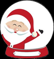 Santa's Snowglobe