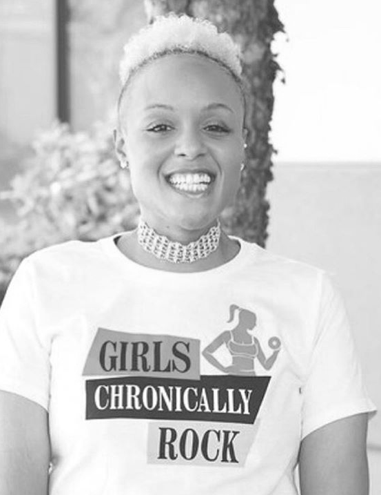 Keisha Greaves, Founder and CEO of Girls Chronically Rock
