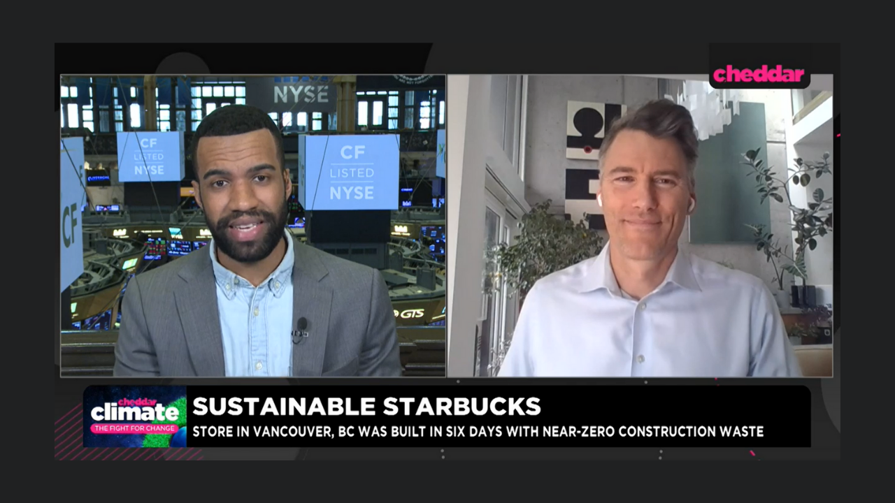 Gregor Robertson, Executive Vice President of Strategy and Partnerships, Talks Sustainable Construction on Cheddar